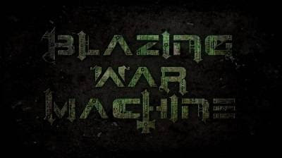 Blazing War Machine_logo