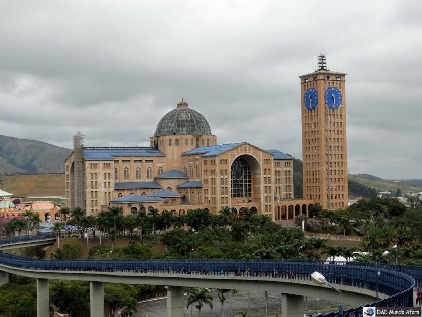Complexo do santuário de Aparecida - o que fazer em Aparecida - São Paulo