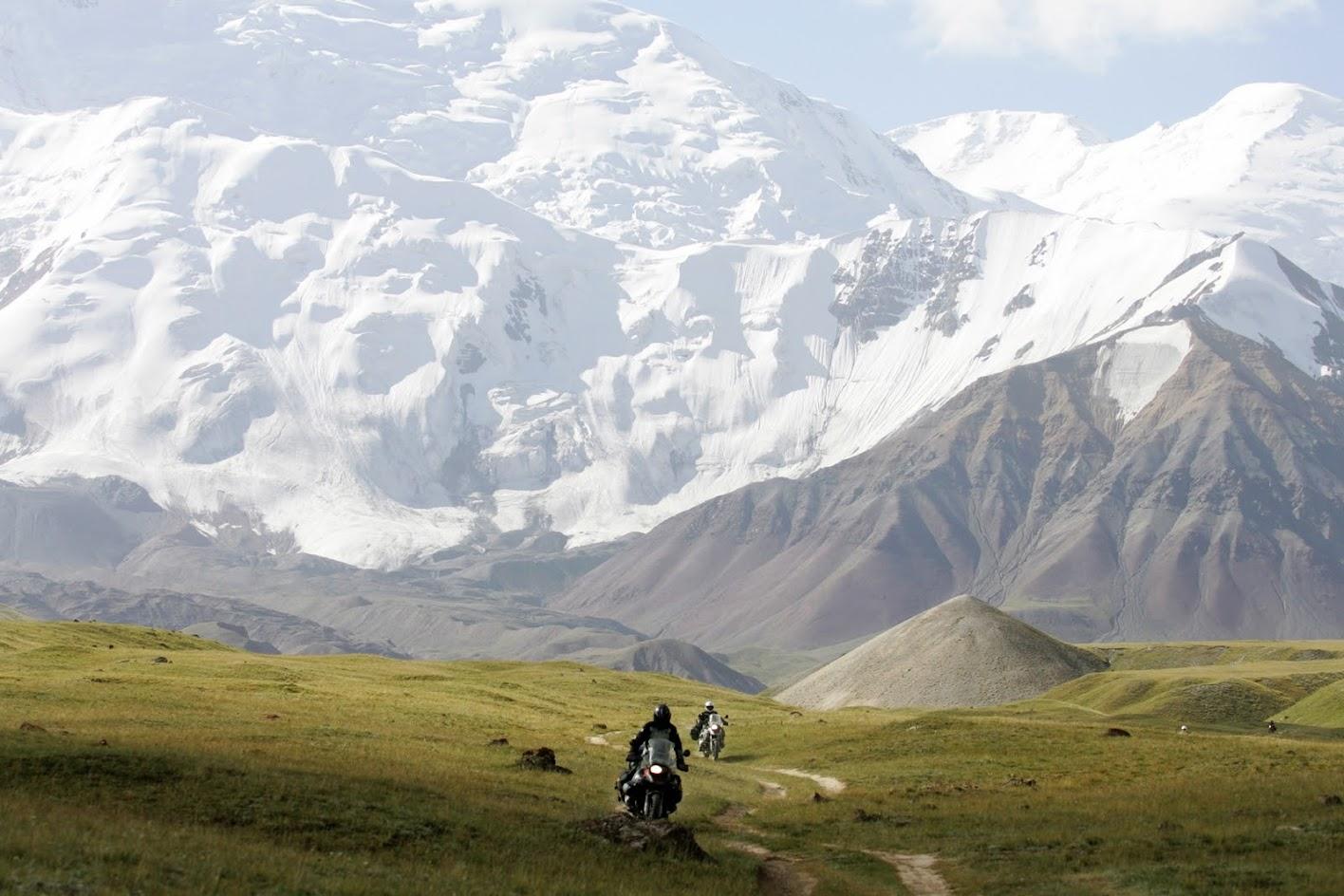 motocyklem do kirgistanu