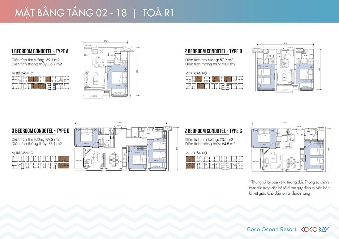 Chi tiết căn hộ tầng 2-18 tòa R1 (Nhấn vào ảnh để xem rõ hơn)
