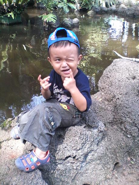 Foto di kolam ikan ragunan