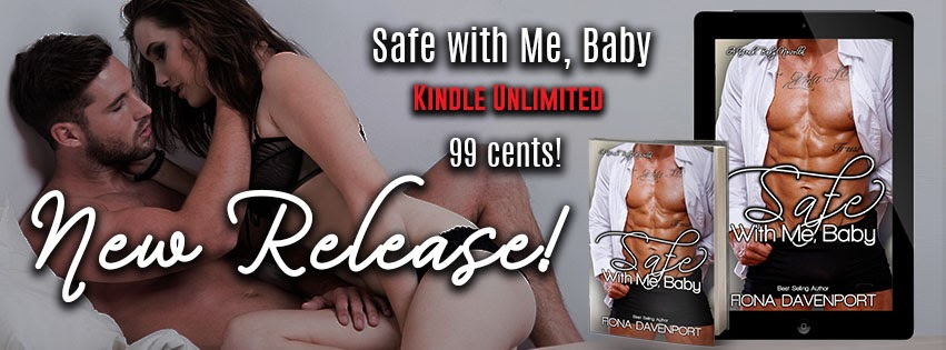 Release Blitz ~ SAFE WITH ME, BABY by Fiona Davenport