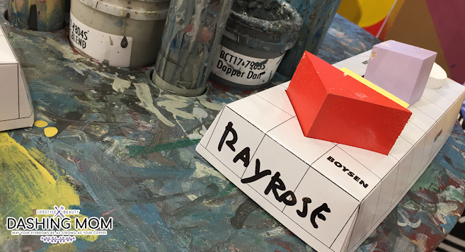 Boysen color blocks with rayrose