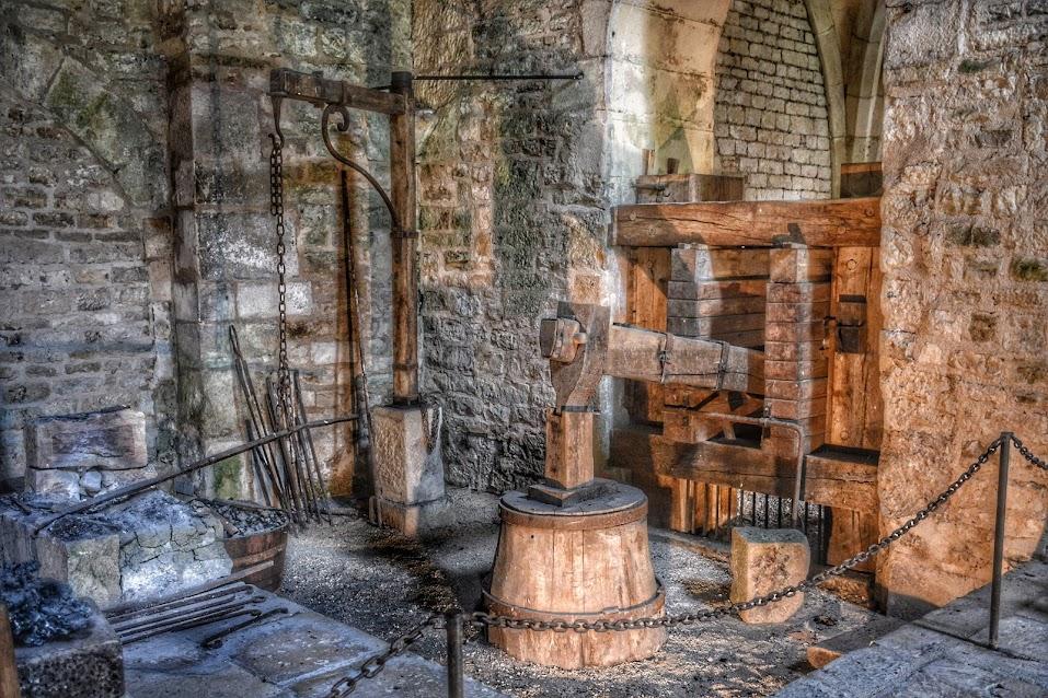Martillo pilón de la abadía de Fontenay
