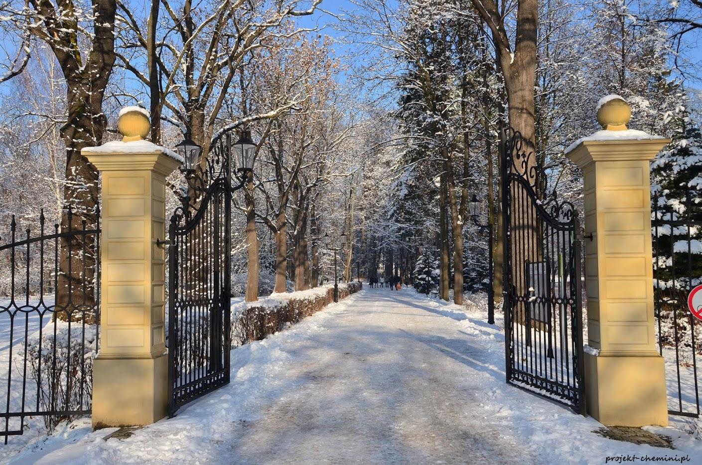 Park Zdrojowy-brama