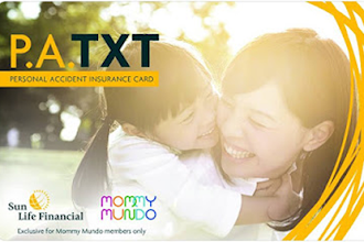 Sun Life's PA TXT Card in partnership with Mommy Mundo