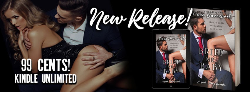 New Release Brief Me, Baby by Fiona Davenport