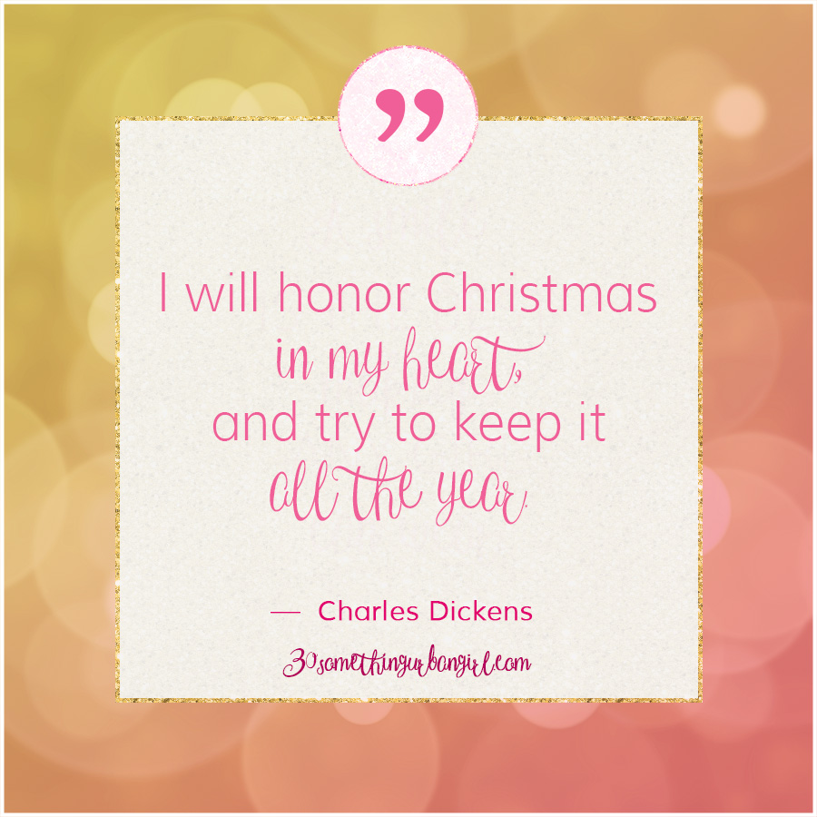 11 days until Christmas with 12 wise Christmas quotes ~ 30 something ...