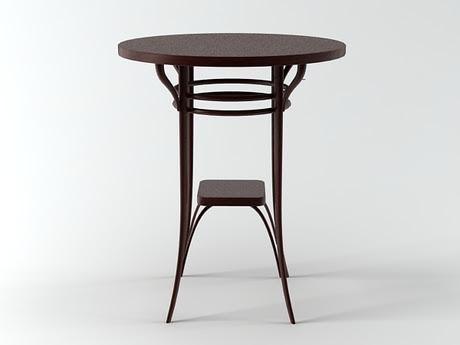 [3Dsmax] 3D model free - Gartentisch