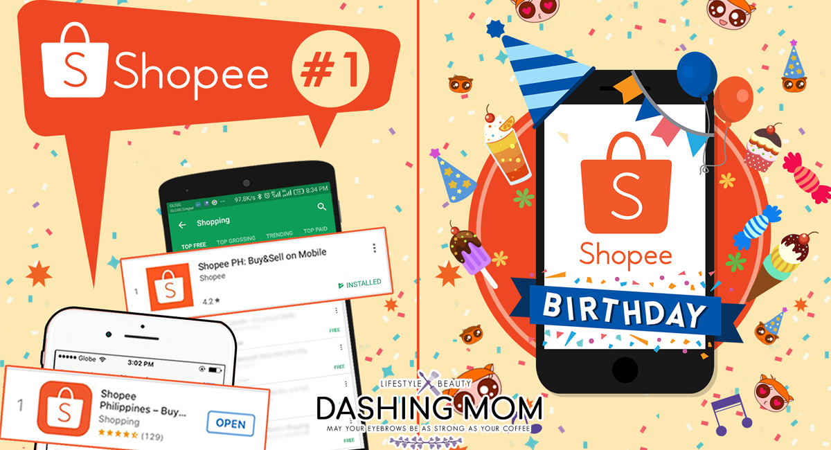 shopee first birthday