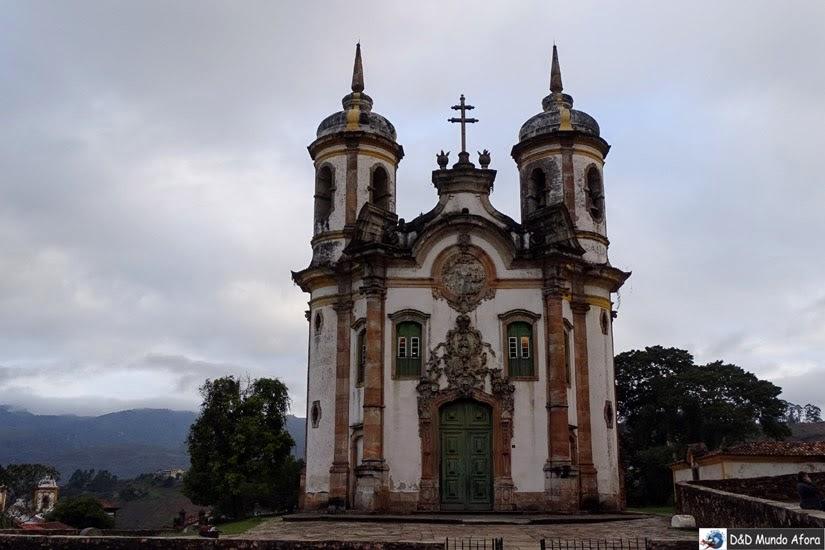 Igreja de São Francisco de Assis - O que fazer em Ouro Preto (MG)