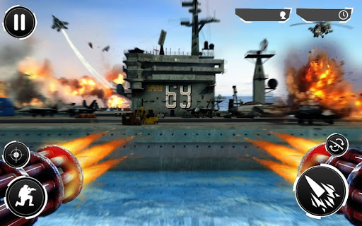 Navy Gunner Shoot War 3D Hack Full Tiền Vàng Cho Android