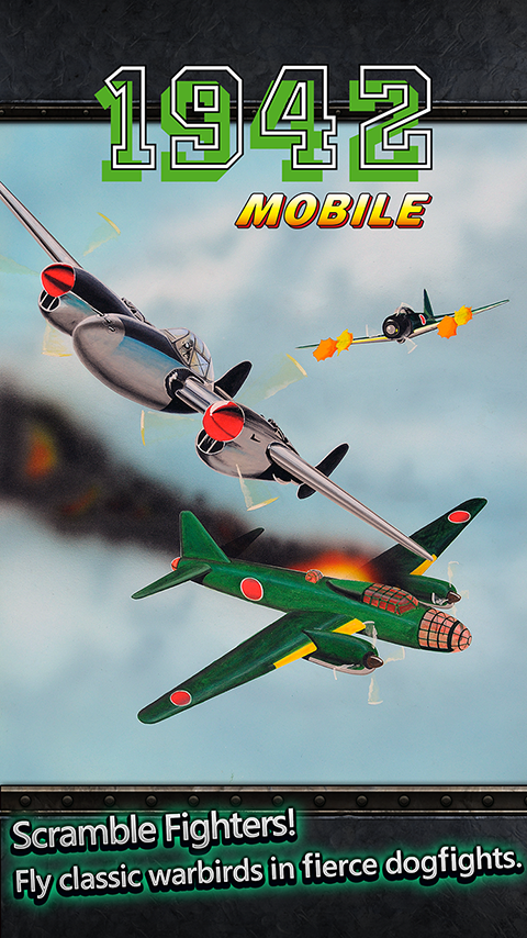 Atarilerin 1942 Uçak Savaş Oyunu Şimdi Telefonlarda