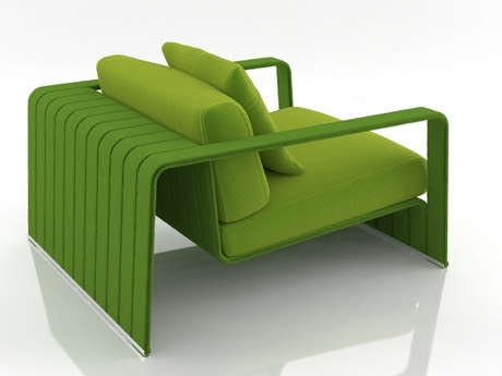 [3Dsmax] 3D model free - Frame armchair