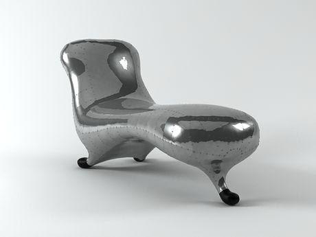 [3Dsmax] 3D model free - Lockheed Lounge