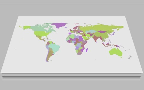WORLD MAP: El mapamundi interactivo online gratis