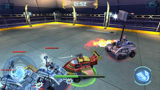 Game Robot Crash Fight Mod Cho Android