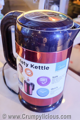 midea safety kettle