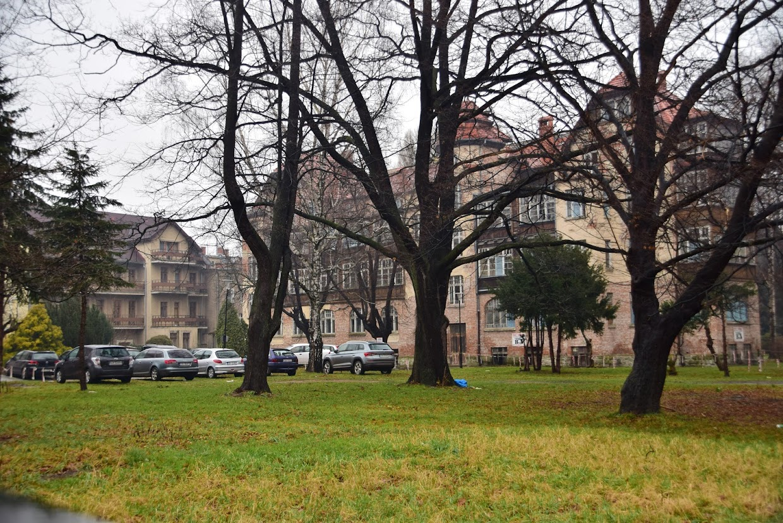 Układ dawny Dom Zdrojowy-Pawilon Marysieńka istnieje do dzisiaj. Jest tylko trudniejszy do sfotografowania
