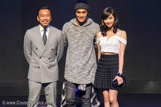 Zenfone 3 Brand Ambassadors Jason Magbanua, Gabriel Valenciano and Alodia Gosiengfiao