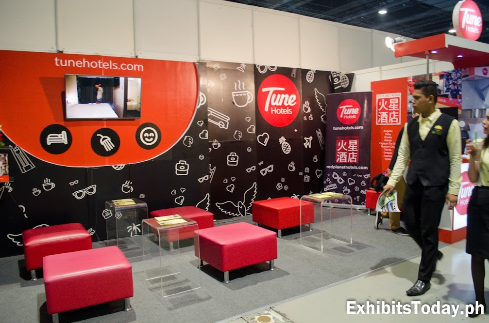 Tune Hotels Exhibit Booth