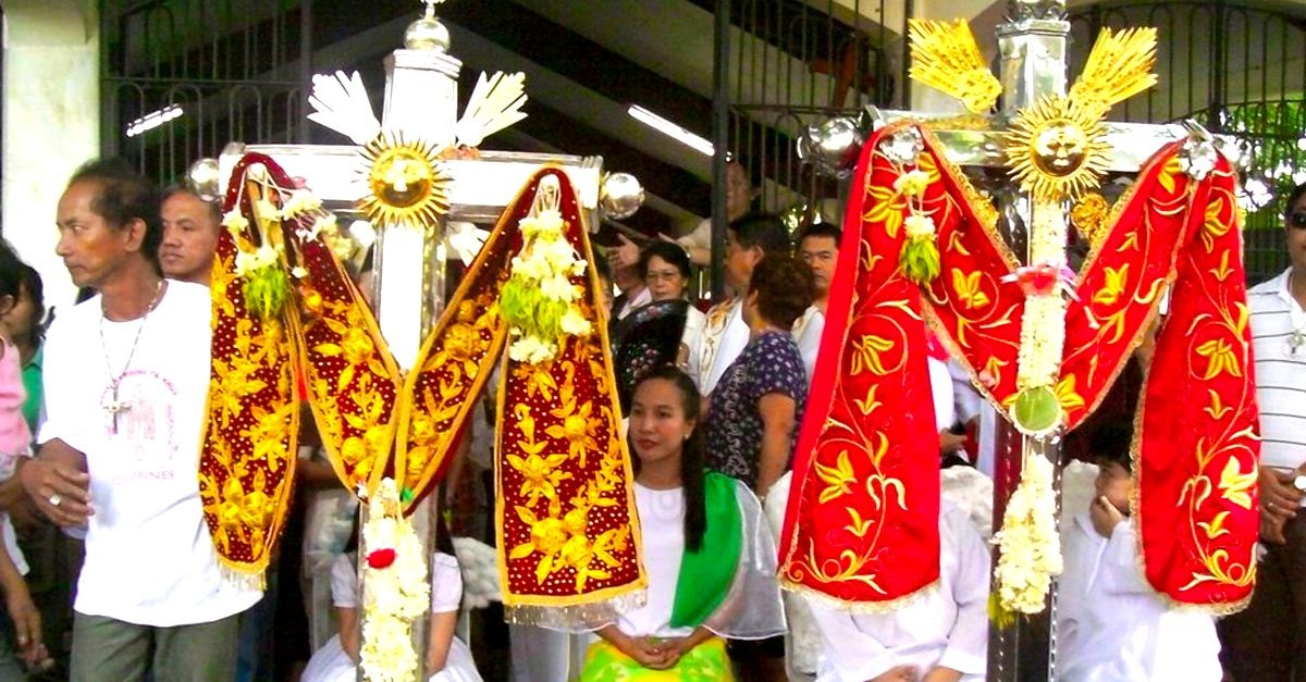 The Holy Crosses of Bauan and Alitagtag.  Image credit:  adelacy on Panoramio.