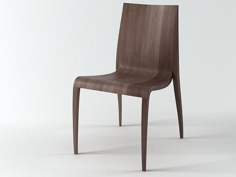 [3Dsmax] 3D model free - Ki Chair