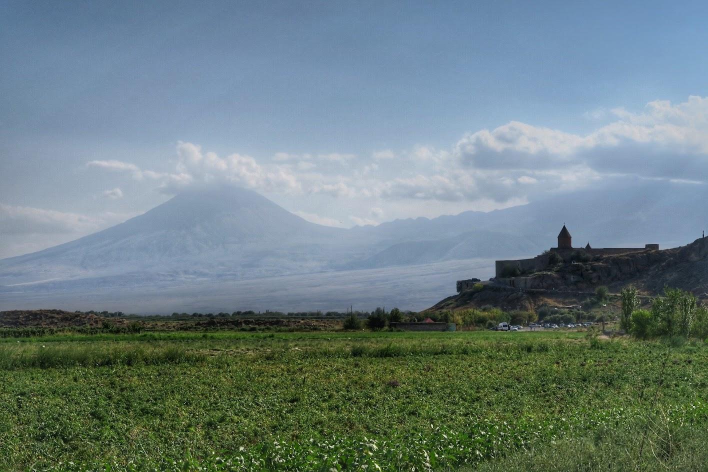 podróż motocyklowa do Armenii