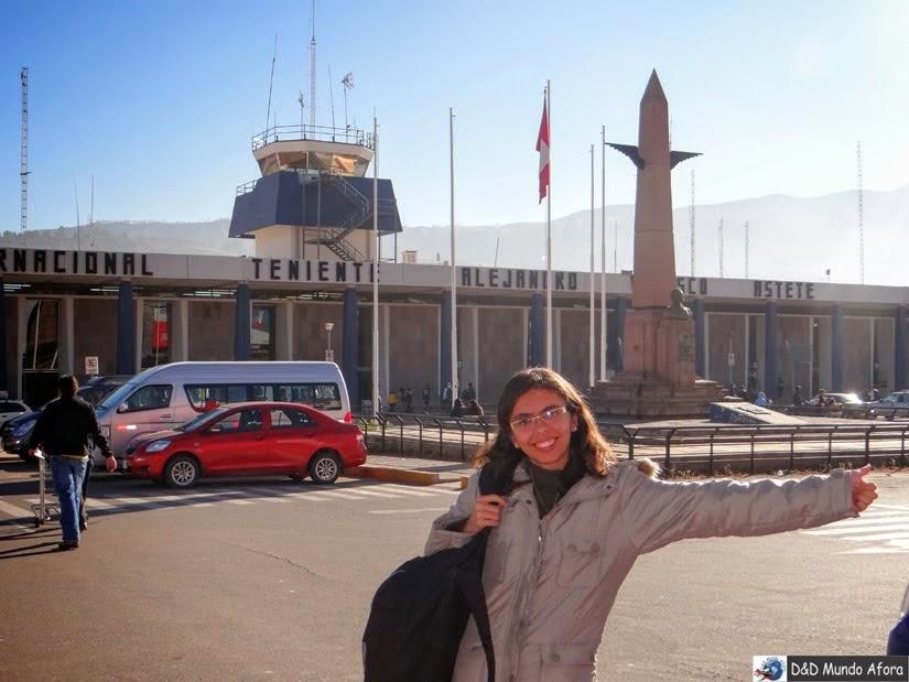 Aeroporto de Cuzco - Peru - O que fazer em Cusco (Peru)