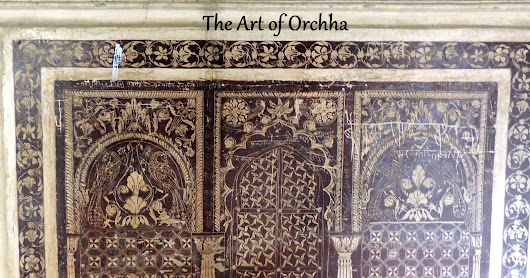 The Vibrant Art of Orchha