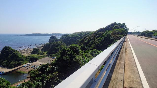 横須賀からスタートして逗子まで三浦半島をグルリと一周(ミウライチ)するサイクリングコース