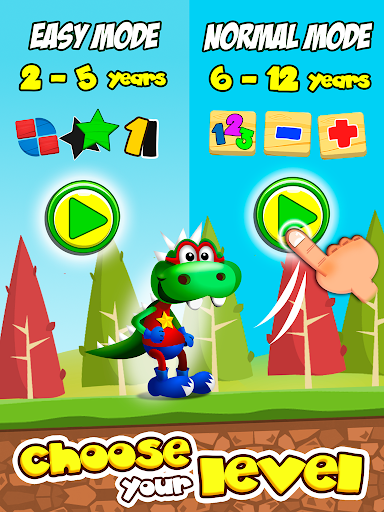 Dino Tim: Preschool Basic Math