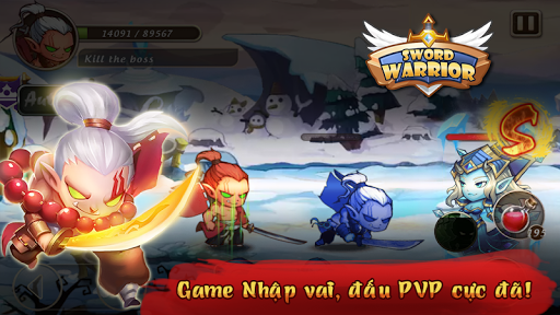 Tải Game Sword Warrior Anh Hùng Kiếm Hack