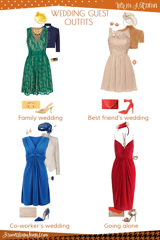 Wedding Guest outfit ideas for Warm Spring and Warm Autumn women ...