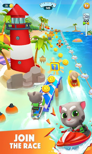 Talking Tom Jetski 2 Hack Cho Android