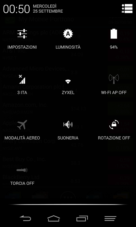 Black Infinitum Theme - Light v4.3.3 APK Personalization Apps Free Download