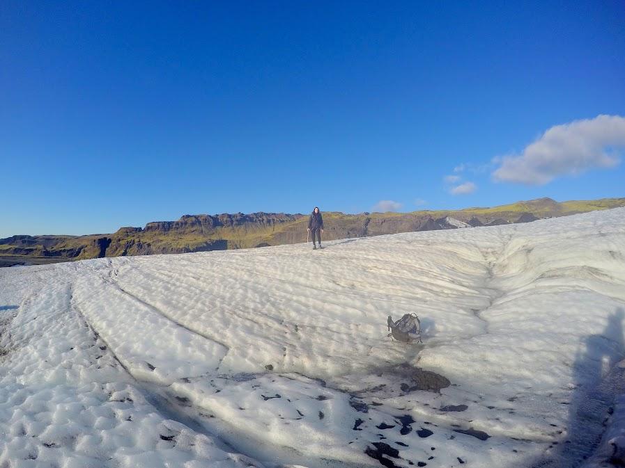 Solheimajökull GLACIER ICELAND