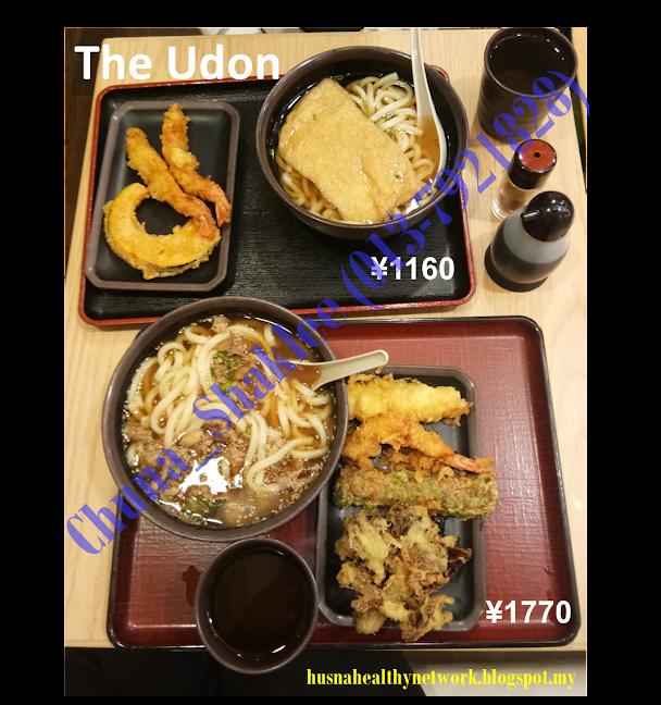 Udon sedap, The Udon, Tempura, RM100 makan, Japan
