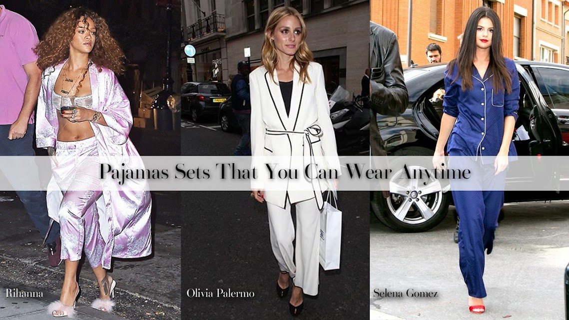Pajamas Sets That You Can Wear Anytime
