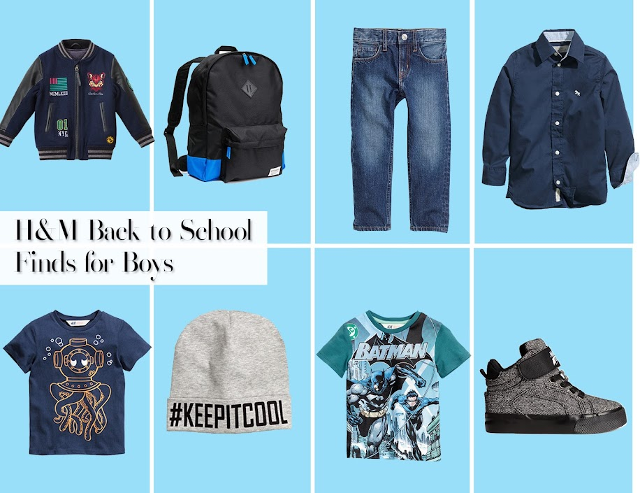 H&M Back to School Finds for Boys