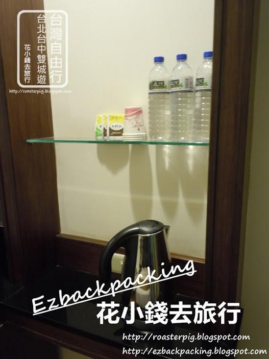 台中酒店四人房內部