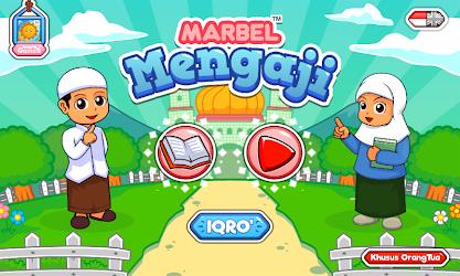 game edukasi marbel belajar mengaji