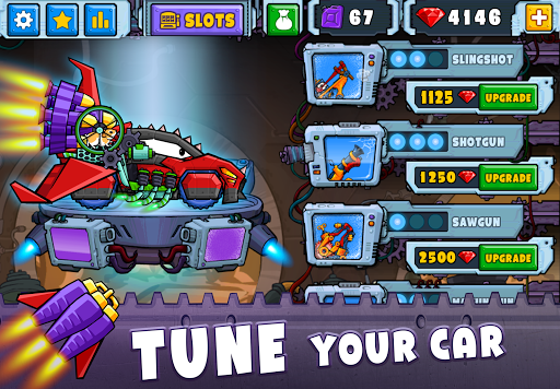 Tải Game Car Eats Car 2 Hack