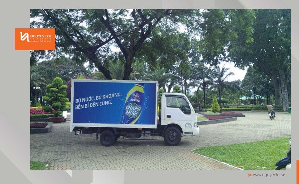 Nhật ký cho thuê xe tải - Quay phim