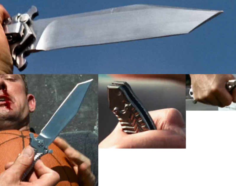 Stop My Suffering: Jason Statham cool knife in the Expendables