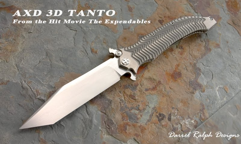 Jason Statham's folding knife in The Expendables, what is ...
