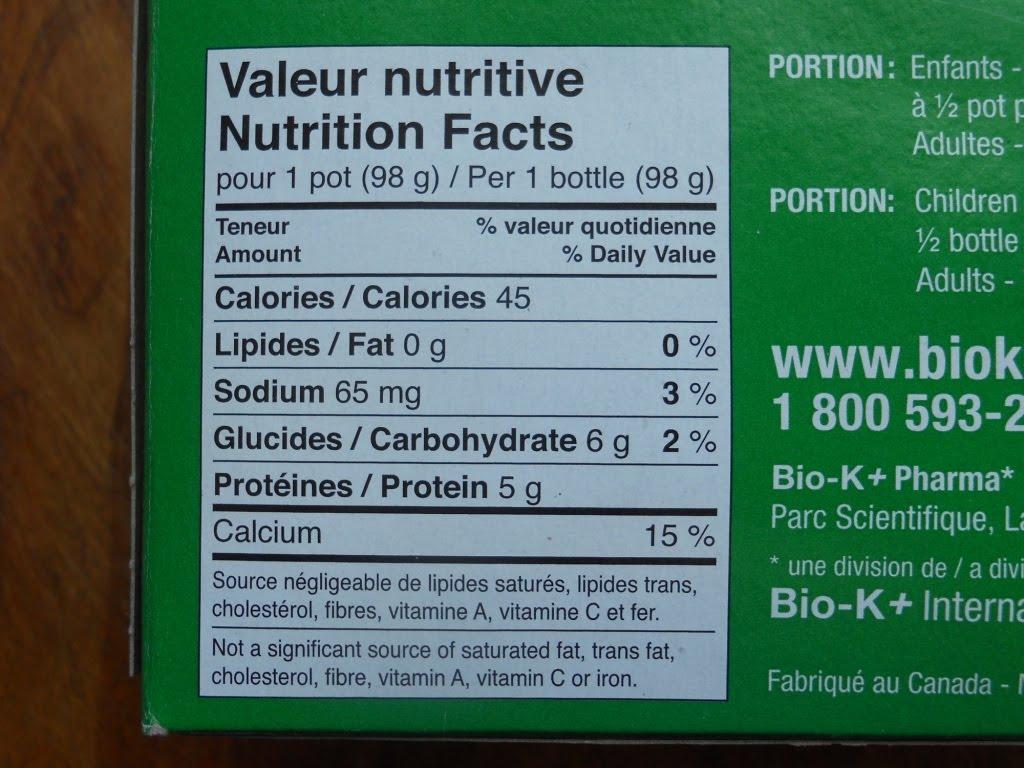 dose quotidienne calcium
