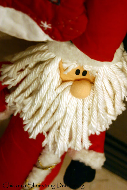 christmas santa decoration