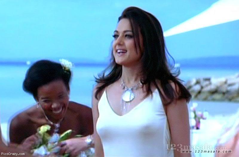 Preity Zinta Boob Show 28