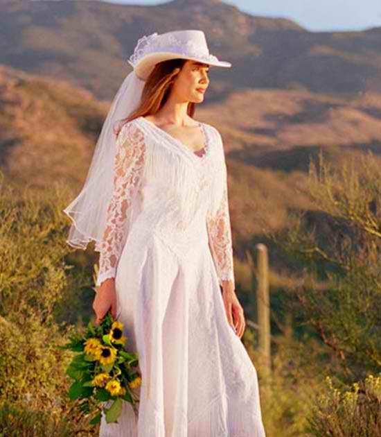 Unique Wedding Ideas: Western Wedding Dresses To Create A
